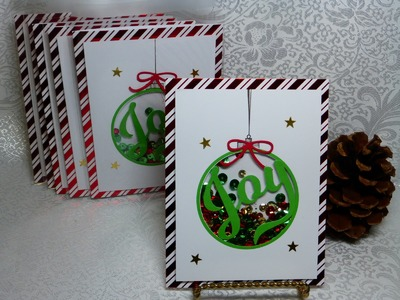 Ornament Shaker Card