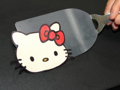 Pancake Art - Hello Kitty Pan Cake by Tiger Tomato