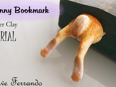 Polymer Clay Cute Rabbit Bookmark Tutorial