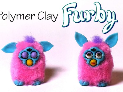 Polymer Clay Furby Tutorial - W. ''poseable'' Expression