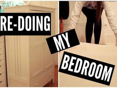 RE-DOING MY BEDROOM!! | Day 1