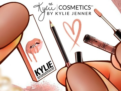 Realistic Miniature LIP KIT by Kylie Jenner Tutorial! | DollHouse DIY ♥
