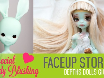Repainting Depths Dolls Giorria - Faceup Stories 37