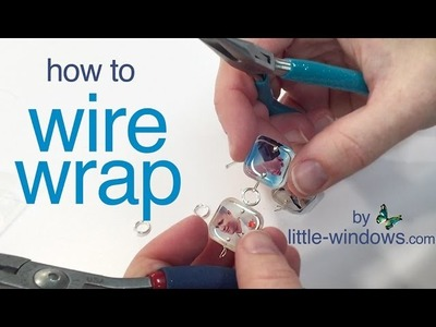 Resin Jewelry - Wire wrap tutorial   by little-windows.com