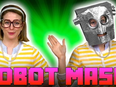 Robot Mask! Crafts for Kids - w. Crafty Carol at Cool School