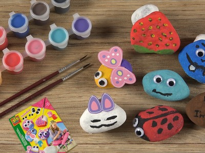 Rock Painting - Coloring Stones For Creative Kids (Steine bemalen)
