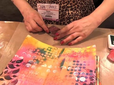 Scrap Time - Ep. 734 -- Dyan Reaveley demos her new Dylusions products!