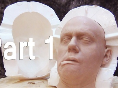 Severed Head Mold Part 1: Mold Making