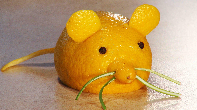 Как сделать фигурку фруктов