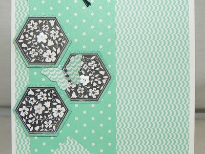 Stampin' Up Hexagon Card