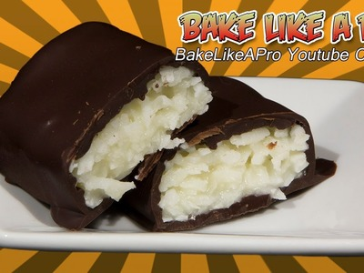 Super Easy Chocolate Bounty Bars Recipe ! . Mounds. Almond Joy
