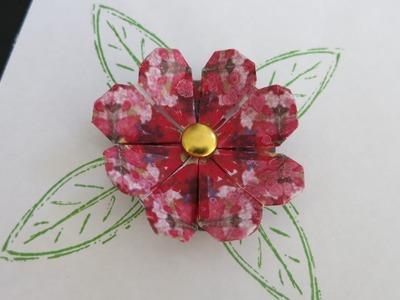 Teabag Folding Heart Flower