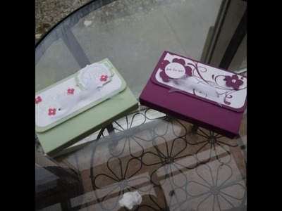 Tealight box for six scented tealights with pretty ribbon closure
