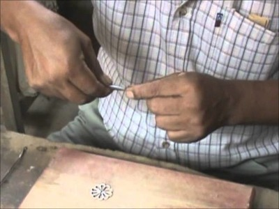 The making of filigree silver ring by Zumaj Silver