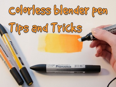TUTORIAL: Colorless Blender Tips and Tricks