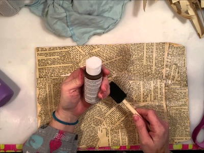 Tutorial: Making a Vintage Envelope Junk Journal - Part 1: The Cover