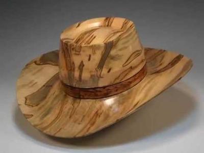 Woodturning - Making a Wood Cowboy Hat