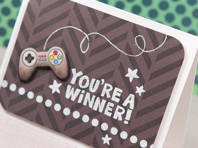 You're a Winner! (Boy Card) -- Make a Card Monday #257