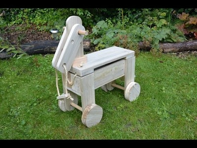 A Pallet Horse is a horse of course. . .