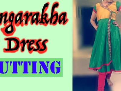Angrakha Dress Part 1 - Marking and Cutting