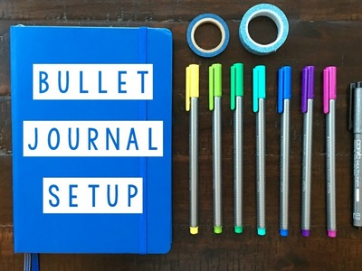 Bullet Journal Setup - March Plan With Me
