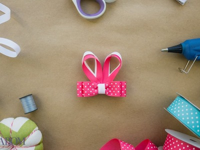 Bunny Ears Bow Clippie Tutorial