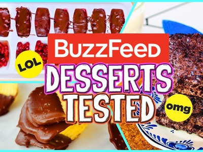 Buzzfeed Dessert Recipes TESTED!! Easy, No Bake Desserts 2016!. Jill Cimorelli