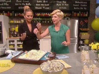 Chrissy Teigen's Birthday Cake Popcorn