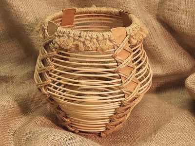 Corrugated Board and Reed Basket (Part 1) - Project #153