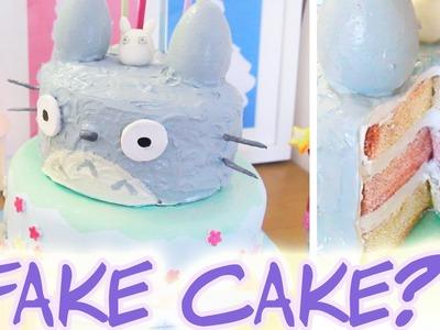 Craft Totoro Cake | Jamie Jo