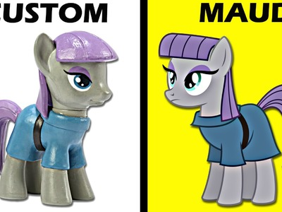 CUSTOM My Little Pony MAUD PIE Tutorial MLP Toy Figure | SweetTreatsPonies