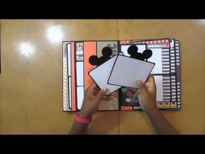 Disney Cruise Foto Folio Mini Scrapbook