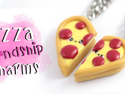 DIY Pizza Friendship Necklace.charms!  |  Kawaii Friday