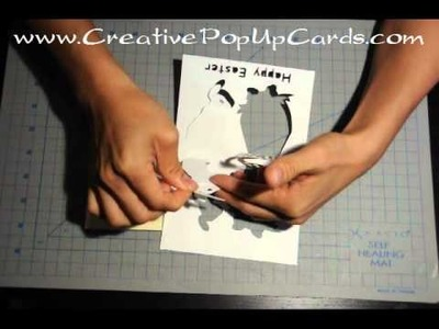 Easter Bunny Pop Up Card Tutorial