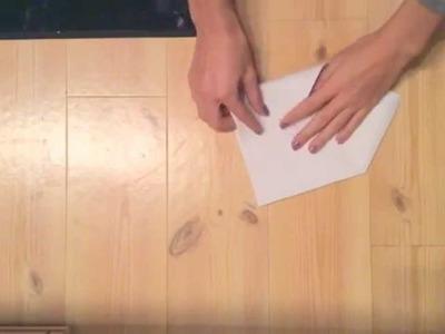 Faire une enveloppe en papier