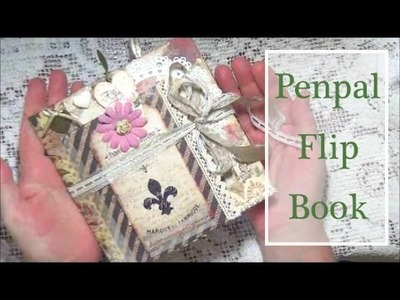 Flip Book 'Vintage Style' - VR for CraftyIrina's Pen-Pal Challenge