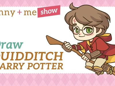 Harry Potter Quidditch Drawing Tutorial - How to Draw Collab with LollyLaurenLolly Tutorial
