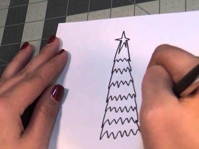 Holiday Doodle Tutorial - Christmas Trees and Presents