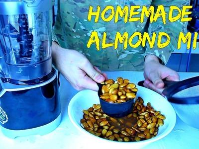 Homemade Almond Milk - Food Hack