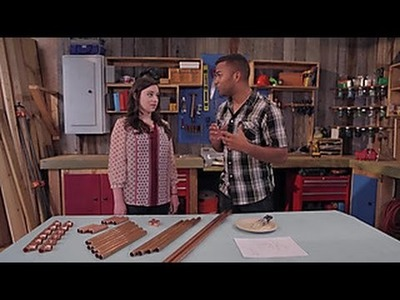 How to Build a Copper Pipe Table - DIY Network