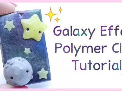 How To: Galaxy Effect ● Polymer Clay Tutorial