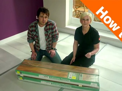 How to lay flooring part 2: underlay