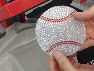 How to Make a Baseball Rhinestone Car Window Decal Bling-N-E-Thing The Rhinestone World