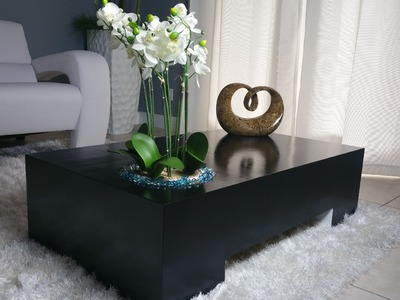 How to make a coffee table