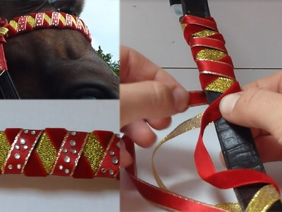 How to Make a Diamante Showing Browband