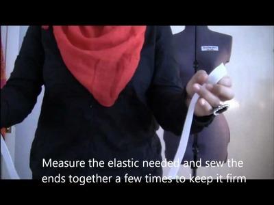 How To Make A Maxi Skirt - Salma Rauf