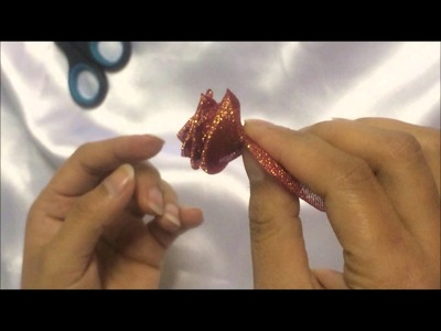 How To Make A Ribbon Flower 02 By Rose