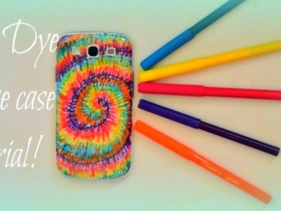 How to make a Tie Dye phone case!