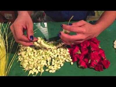 How to make Thai Jasmine Garland
