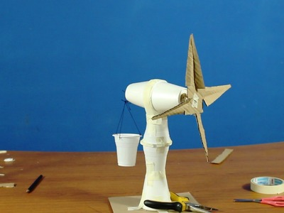 How to make Windmill Hands-on activity project for TISP